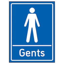 Gents Toilets Blue