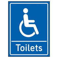 Disabled Toilets Blue