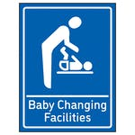 Baby Changing Facilities Blue