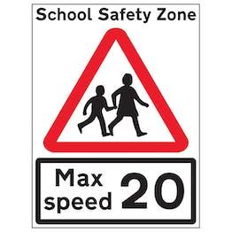 School Children Crossing Max Speed