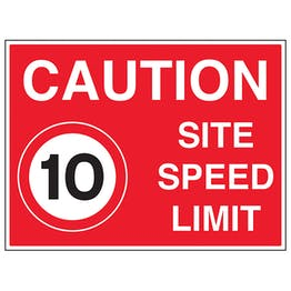 10 MPH Site Speed Limit
