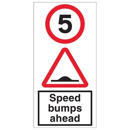 5 MPH Speed Bumps Ahead