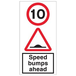 10 MPH Speed Bumps Ahead