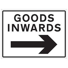 Goods Inwards Arrow Right