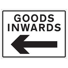 Goods Inwards Arrow Left
