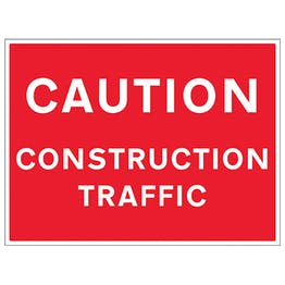 Caution Construction Traffic
