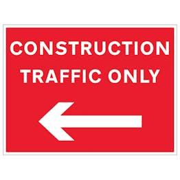 Construction Traffic Arrow Left