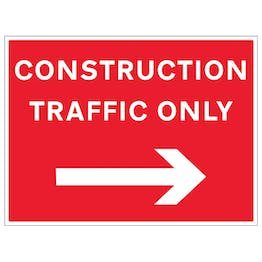 Construction Traffic Arrow Right