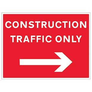 Construction Traffic Arrow Right