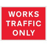 Works Traffic Only