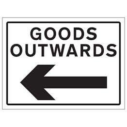Goods Outwards Arrow Left