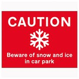 Ice & Snow Signs