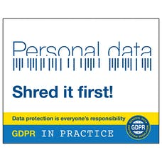 Is That Personal Data? Shred It First