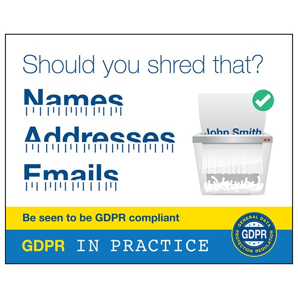 Should You Shred That? Names, Addresses, Emails