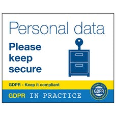 Personal Data Please Keep Secure