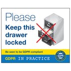 Please Keep This Drawer Locked