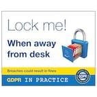 Lock Me! When Away From Desk