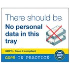 No Personal Data In This Tray