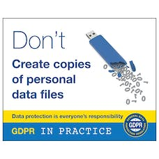 Don't Create Copies Of Personal Data Files