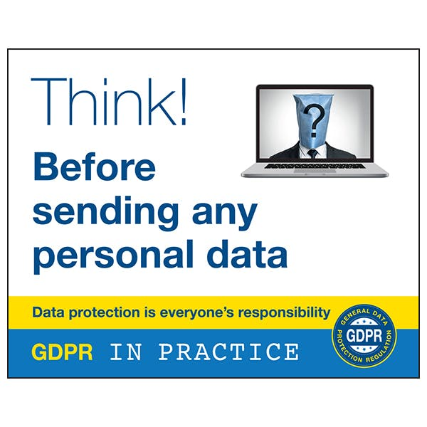 Think Before Sending Any Personal Data