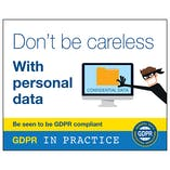 GDPR Sticker - Don't Be Careless With Personal Data