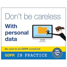 Don't Be Careless With Personal Data