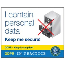 I Contain Personal Data Keep Me Secure