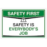 Safety Is Everybody's Job