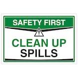 Clean Up Spills
