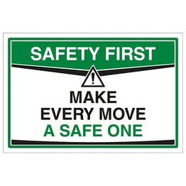 Make Every Move A Safe One