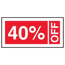 40% Off Labels On A Roll