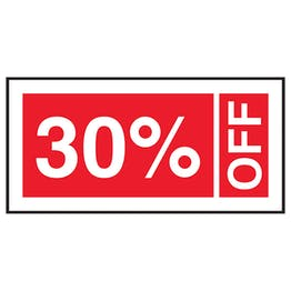 30% Off Labels On A Roll