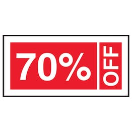 70% Off Labels On A Roll