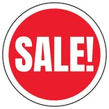 Sale! Circular Labels On A Roll - Large