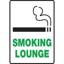 Smoking Lounge W/Graphic