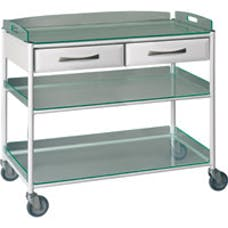 Large Dressing Trolley with Drawer