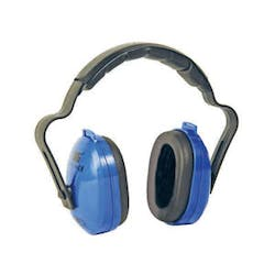 Big Blue Ear Muffs