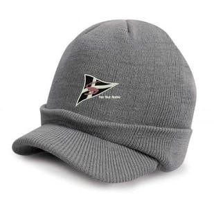 S.O.A Embroidered Knitted Hat