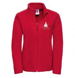 S.O.A Embroidered Ladies Full Zip Fleece