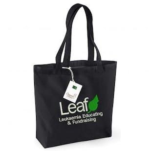 Leaf Charity Organic Shopper Bag