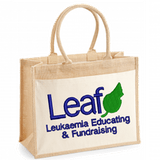 Leaf Charity Organic Jute Bag