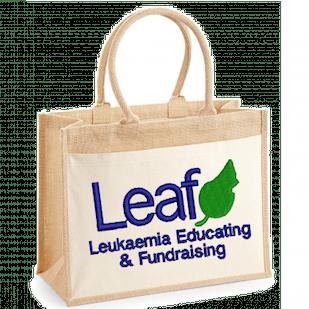 Leaf Charity Organic Jute Bag