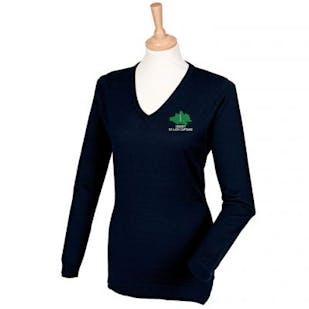 Dorset Ex-Lady Captains Embroidered V-Neck Jumper