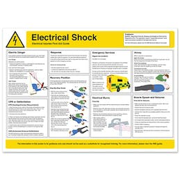 Electrical Shock Safety Poster