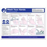 Wash Your Hands Safety Poster