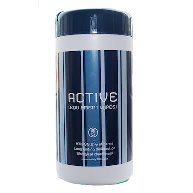 Active 70% Alcohol Equipment Wipes
