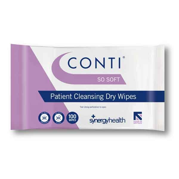 Conti SoSoft Dry Patient Wipes