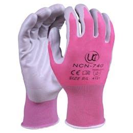 UCI NCN-740 Nitrile Coated Pink Gardening Gloves