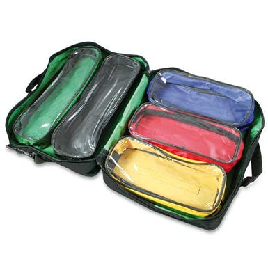 Colour Coded Pouch Bag