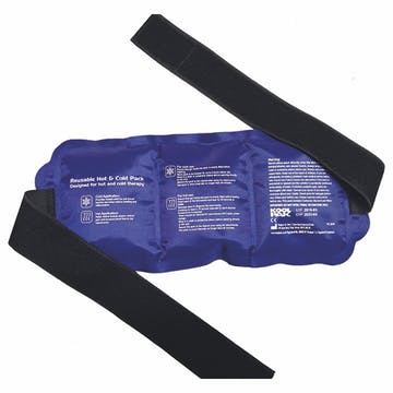 Reusable Hot & Cold Pack with Elasticated Strap